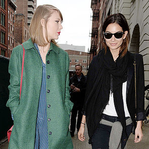 Taylor Swift and Lily Aldridge Hang Out in NYC   Pictures