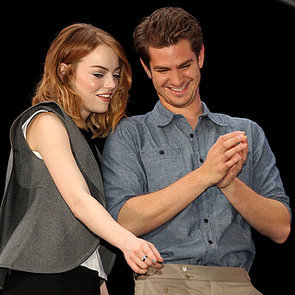 Andrew Garfield and Emma Stone at Earth Hour   Pictures