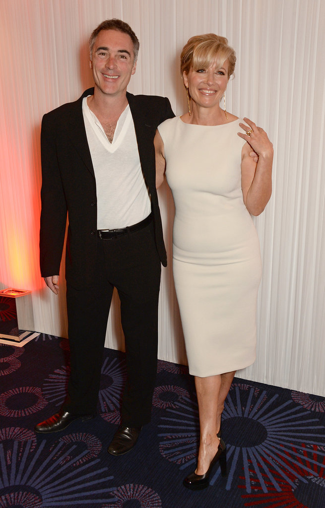 Emma turned the event into a date night with her husband, Greg Wise.