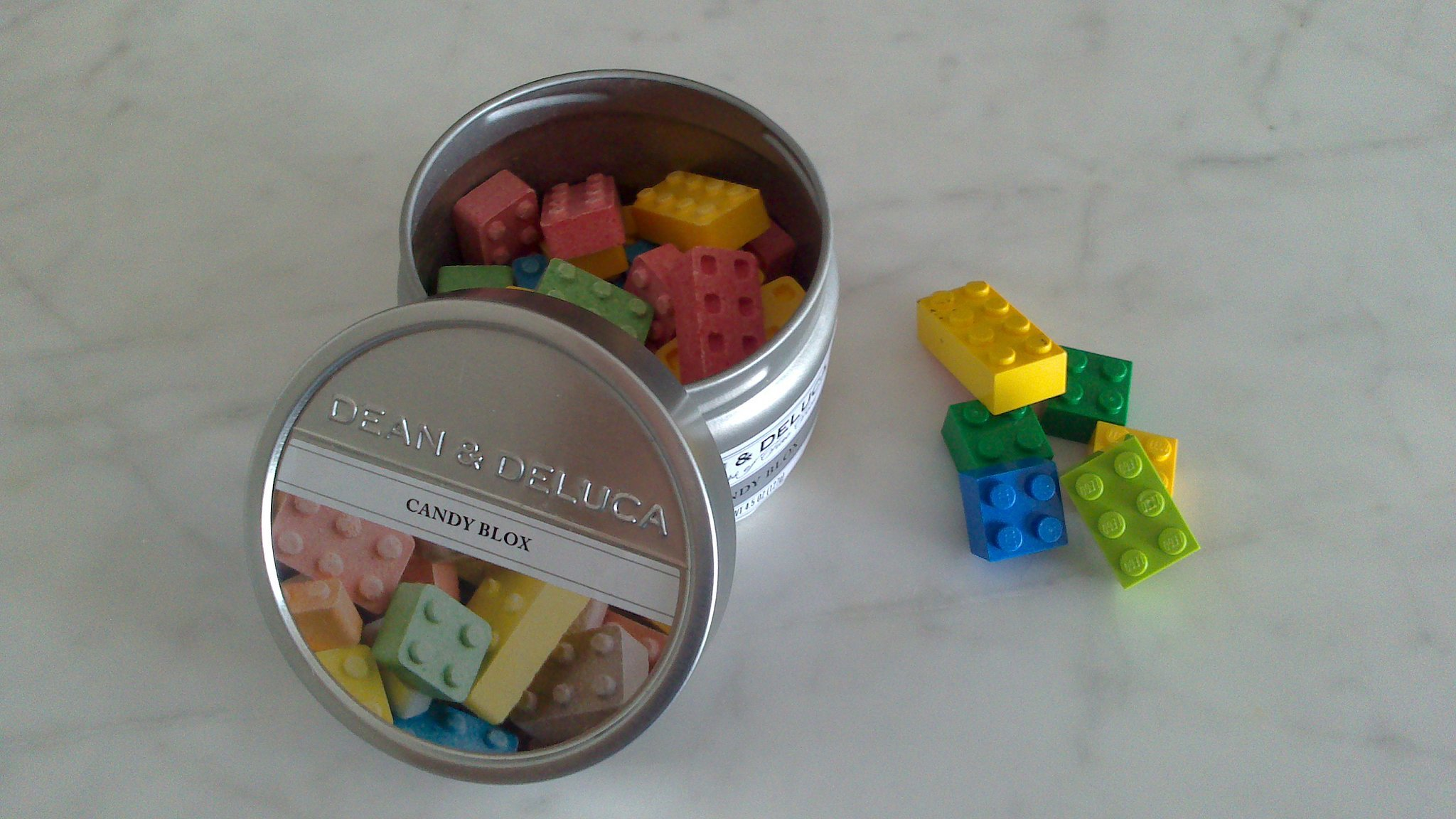 Dust Legos with flour so that they look like candy.  Source:  Reddit user buskey via Imgur