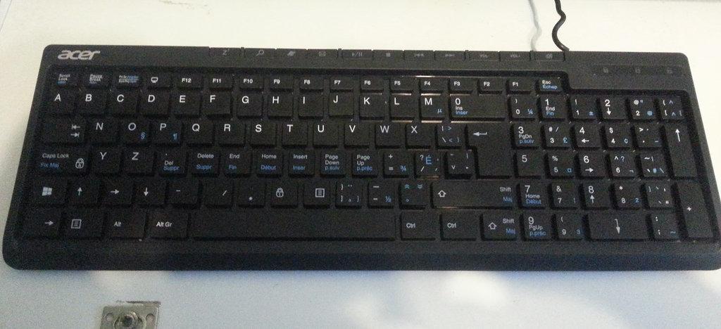 Alphabetize a keyboard.  Source: Reddit user Prooffreader via Imgur