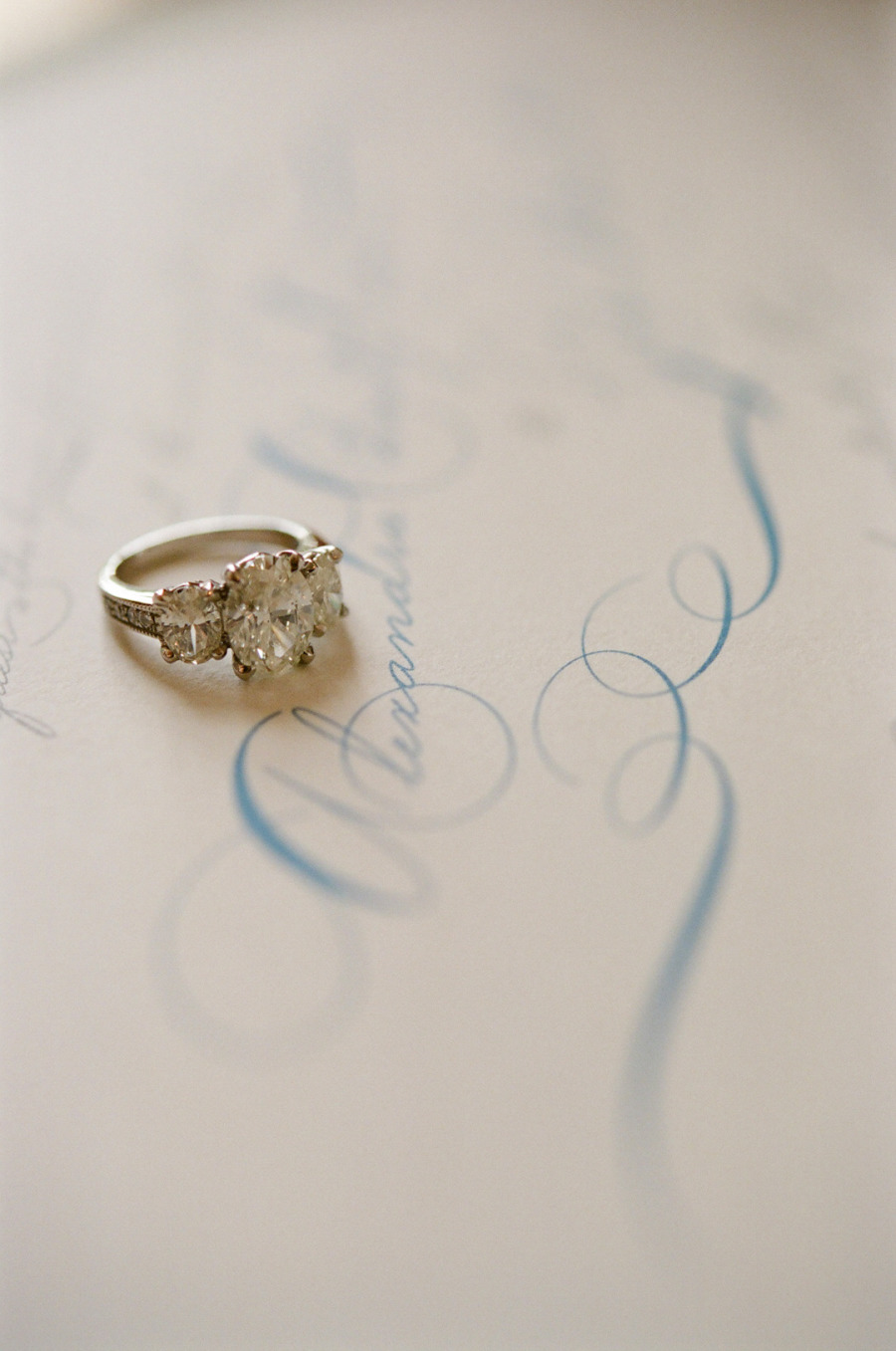26. Ring on Invitation Close-Up