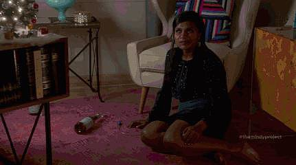 Remember when Danny learns a dance to an Aaliyah song as a present for Mindy? We still can't get over it.