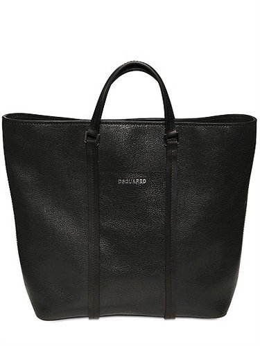 Dsquared - Textured Leather Shopper Bag
