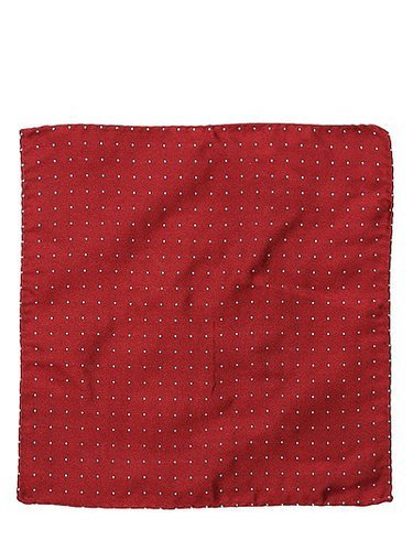 Dsquared - Set Of Two Silk Jacquard Pocket Squares