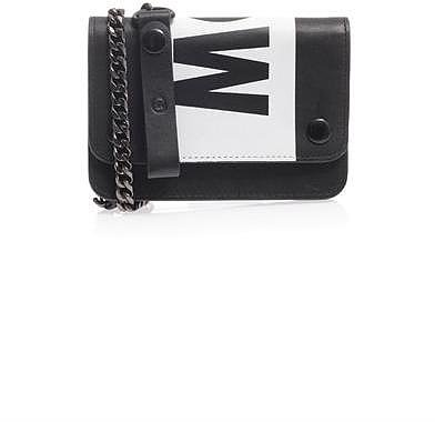 MCQ ALEXANDER MCQUEEN Chain leather wallet