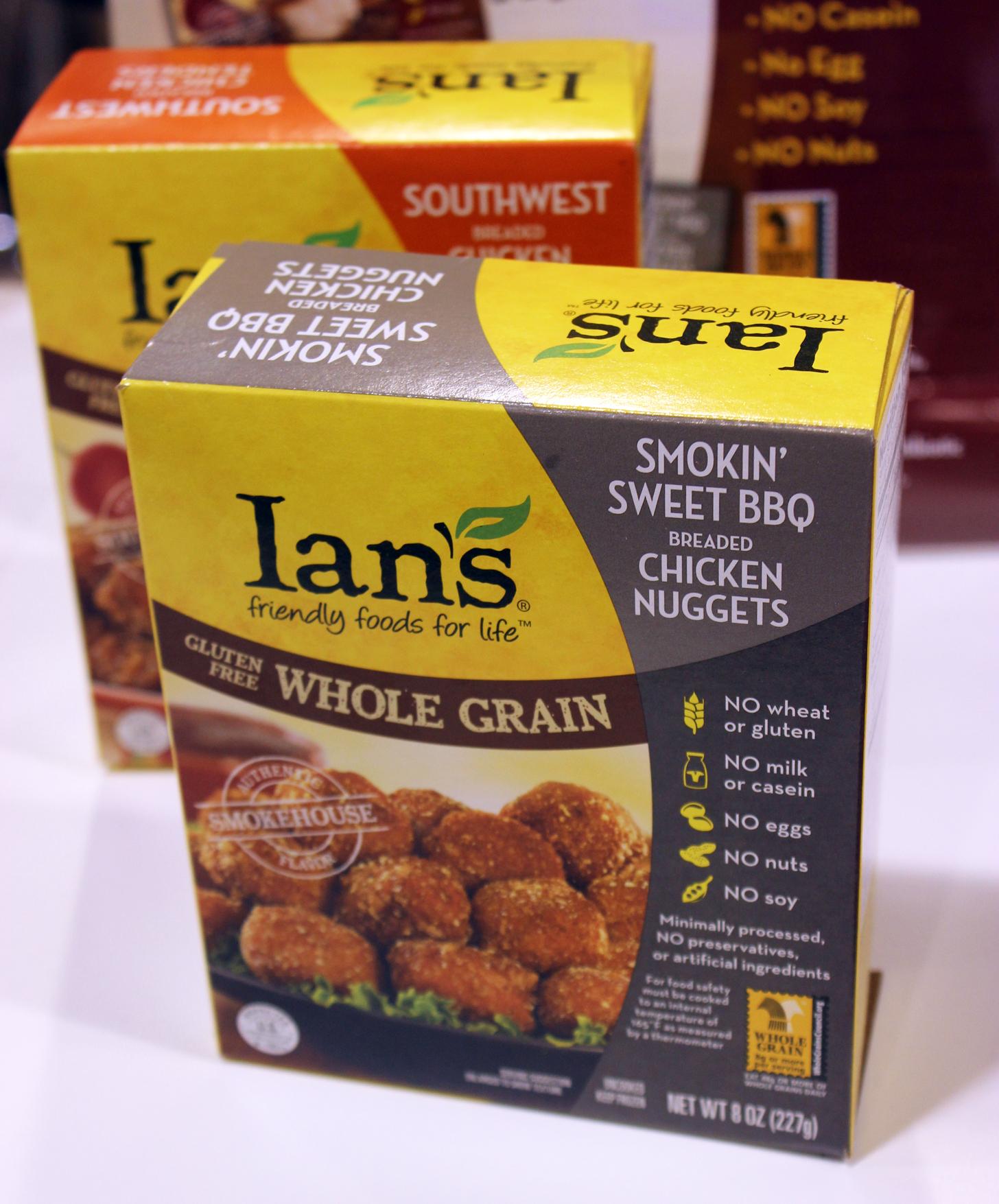 Ian's BBQ Chicken Nuggets