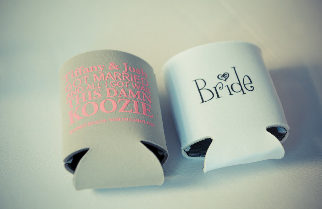1. Beer Koozie Favors