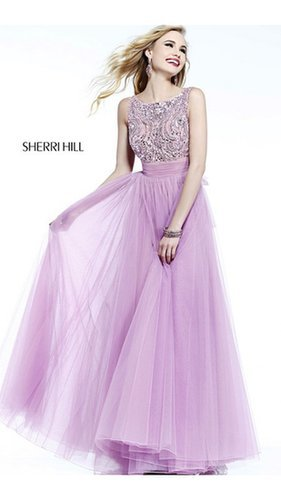 Backless Orchid Sherri Hill Prom Dress 11022Outlet