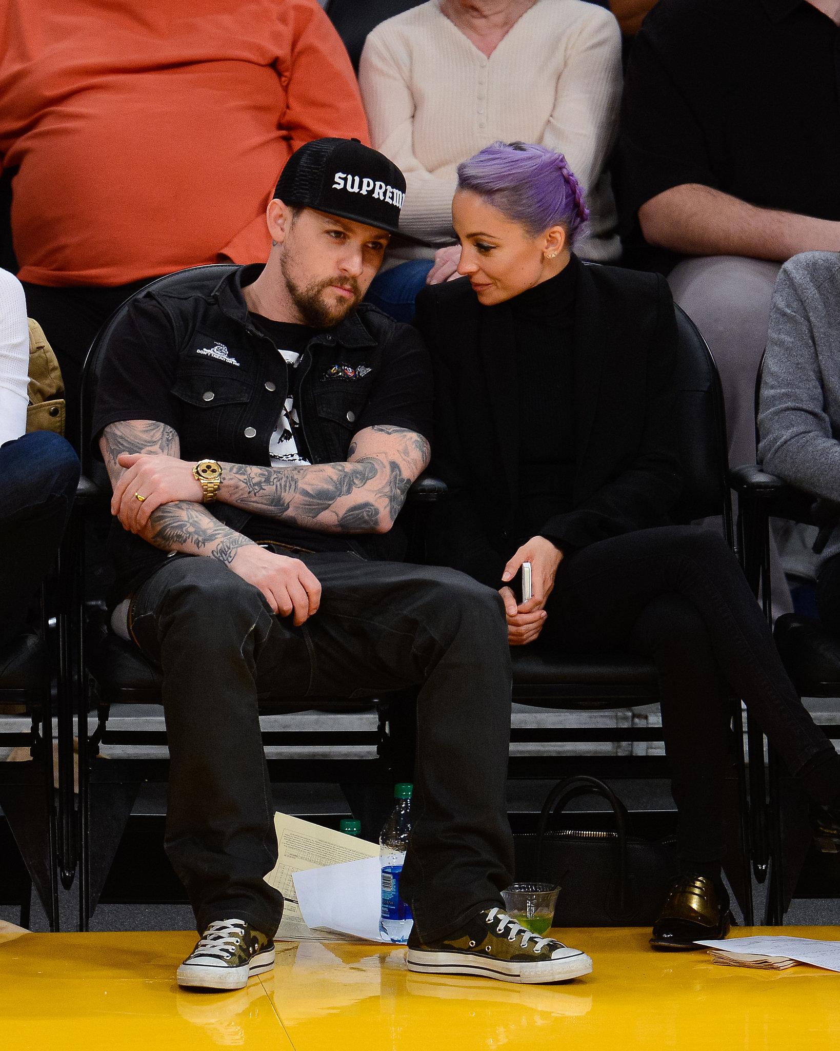 Nicole and Joel Celebrate Their Big Week With a Basketball Game