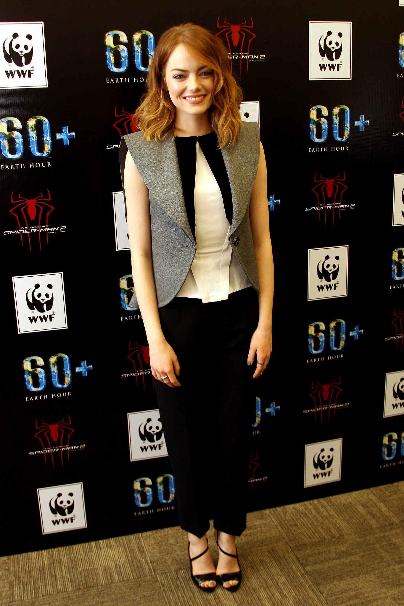 Emma Stone at Spider-Man's Earth Hour Kickoff