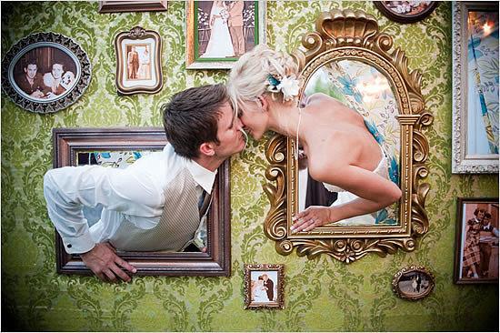 Photo Booth Kiss