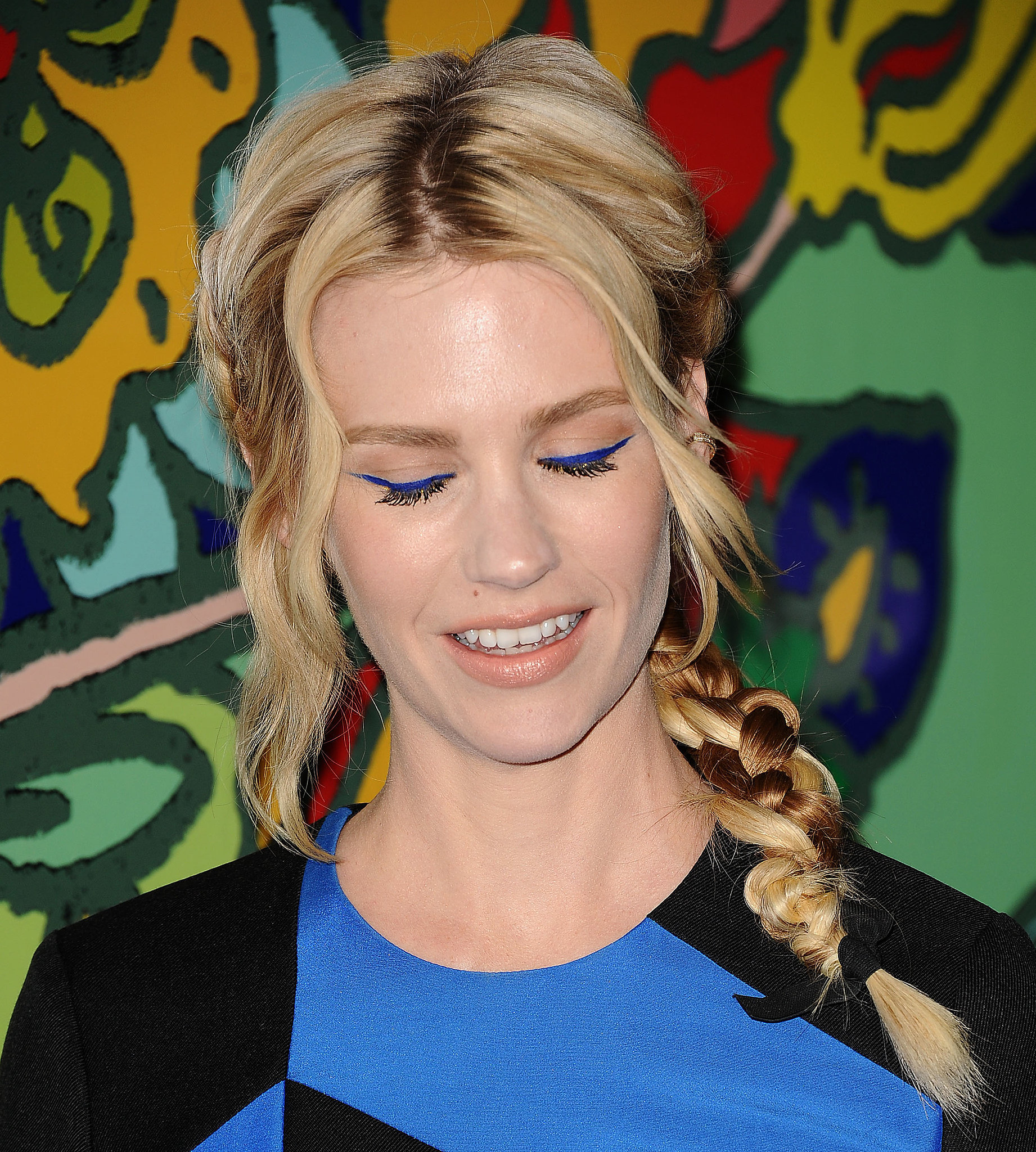 January Jones's Eye Makeup
