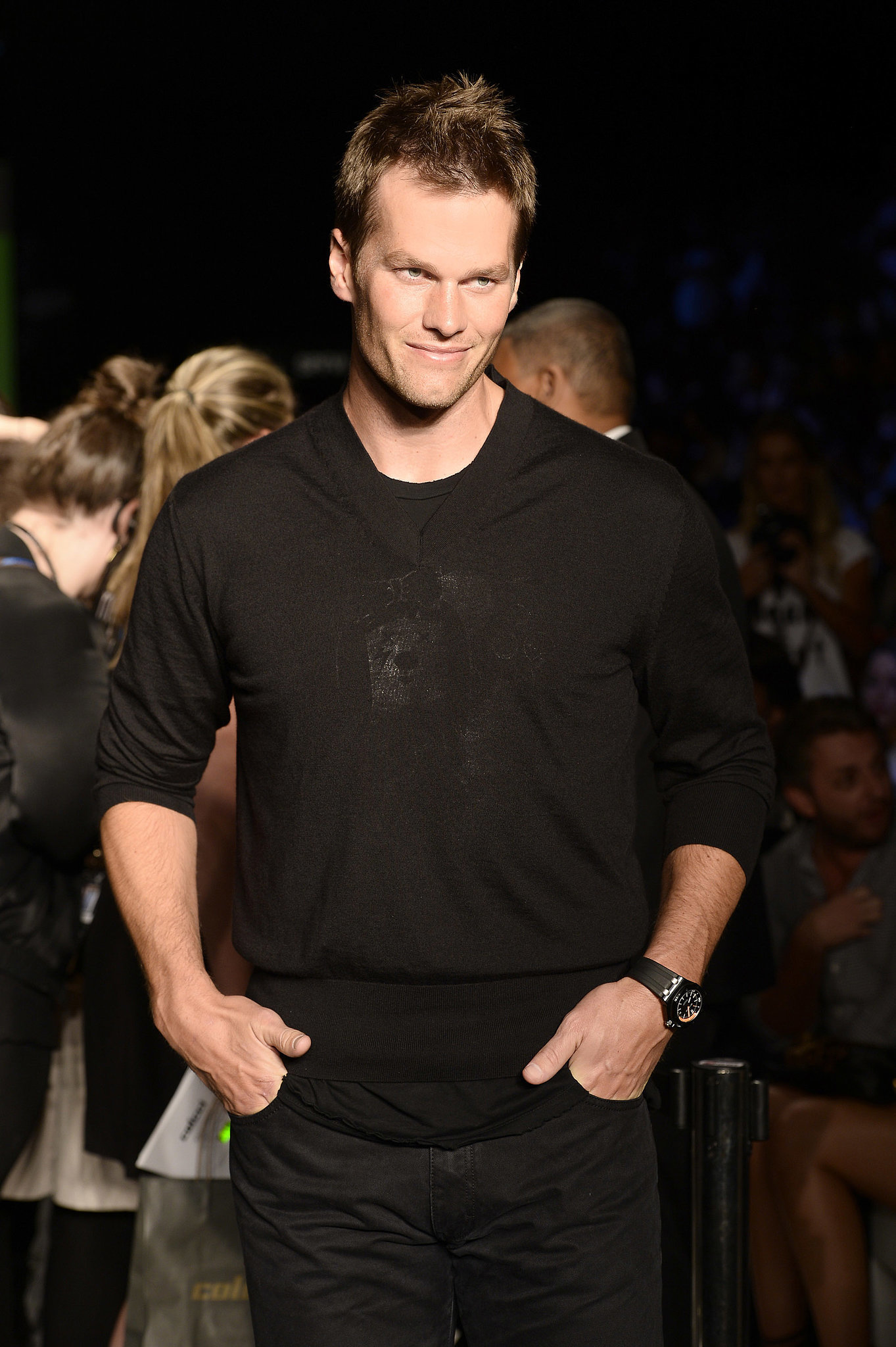 Tom Brady Is Gisele's Biggest — and Most Adorable! — Front-Row Fan