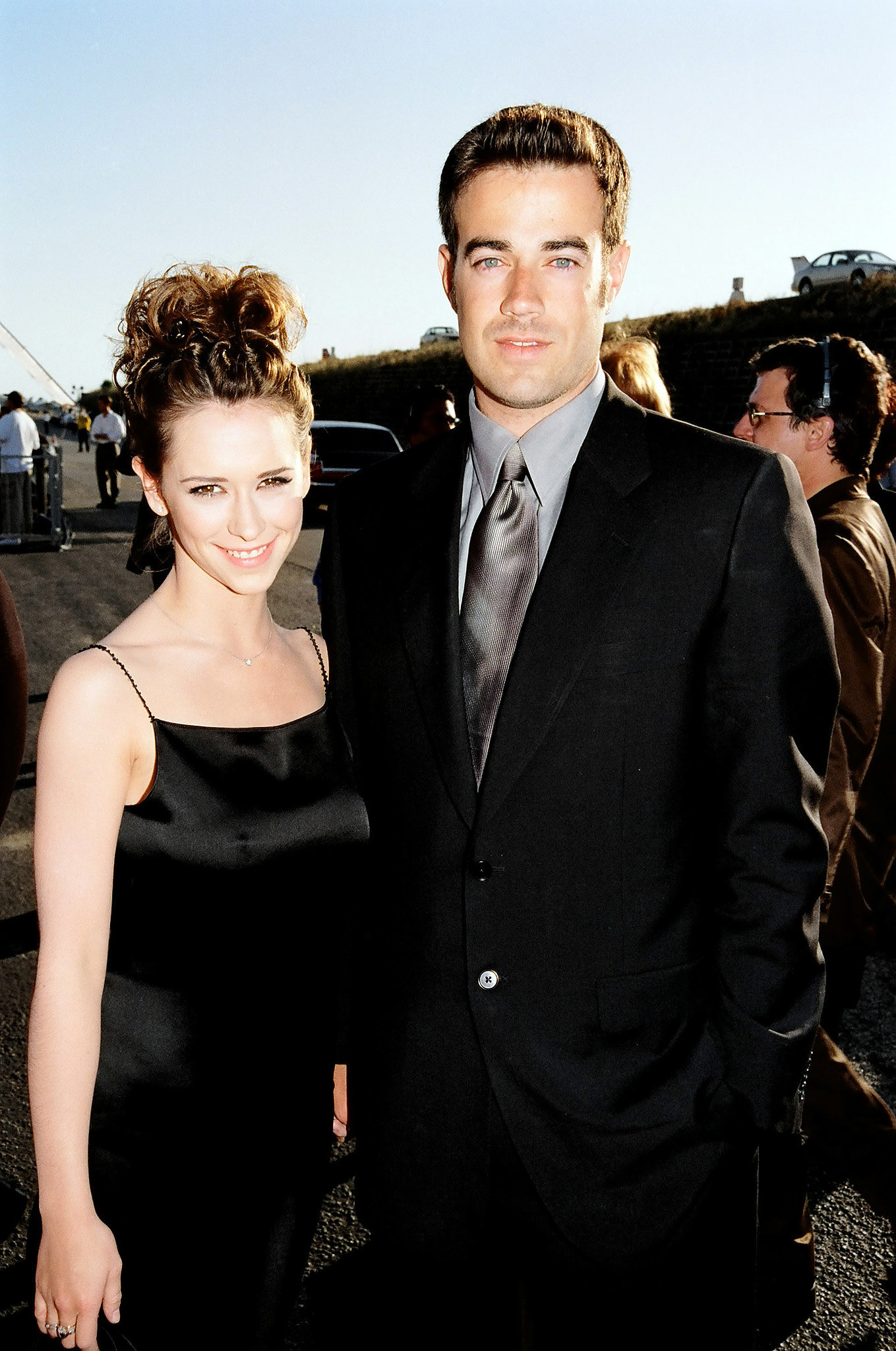 Carson Daly and Jennifer Love Hewitt were a thing.