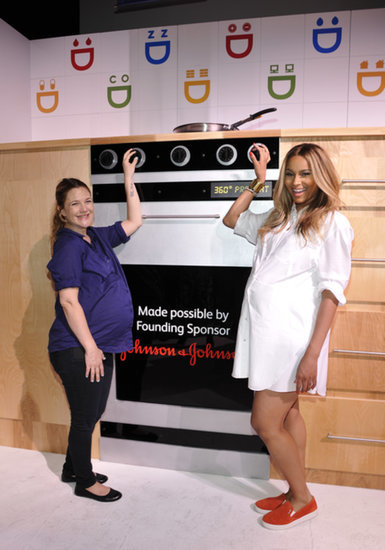 Aww! Drew Barrymore and Ciara Show Off Their Baby Bumps