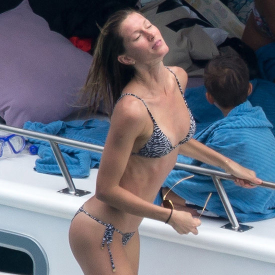 Gisele Bundchen Wears a Bikini on a Yacht in Brazil | Photos