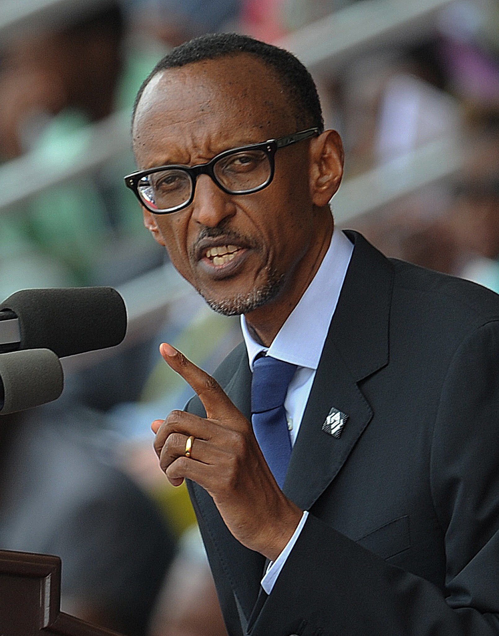 "President Paul Kagame told Rwandans at today's ceremony: ""We have pursued justice and reconciliation as best we could. But it does not restore what we lost."""