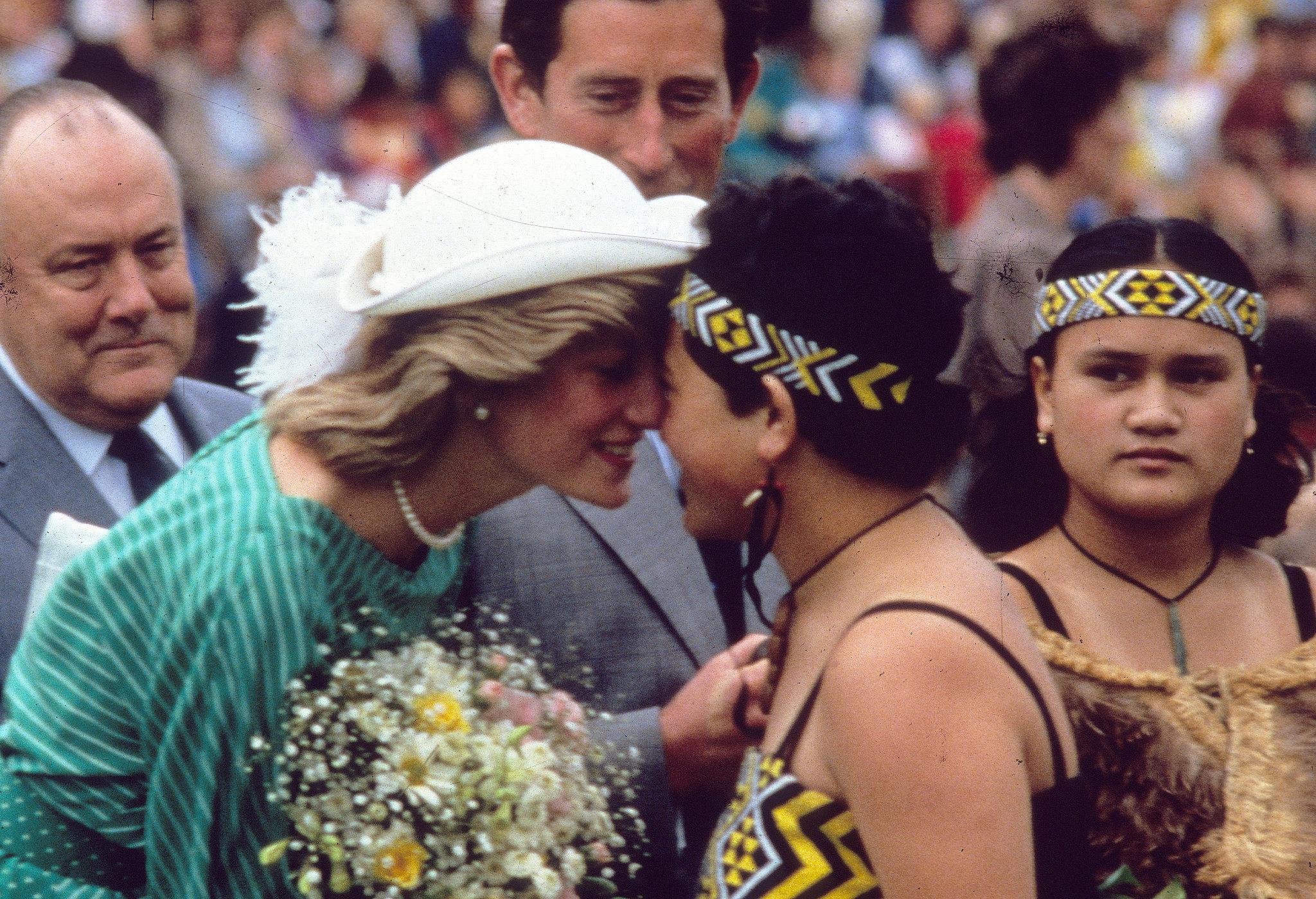 Princess Diana's Hongi
