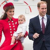 Video of Royals Landing in New Zealand For Royal Tour