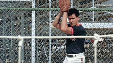 It was a different era for Charlie Sheen.
