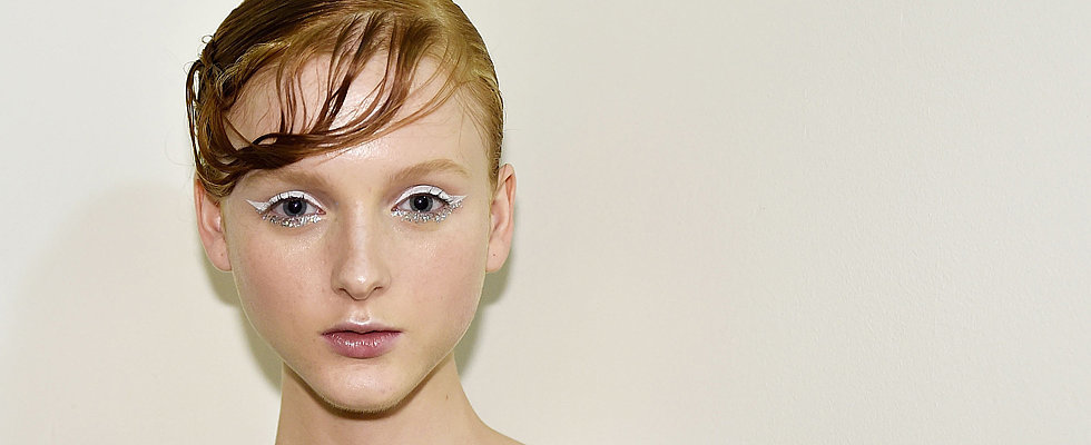 White Eyeliner and Hot, Gym Skin Stole the Show at Karla Spetic