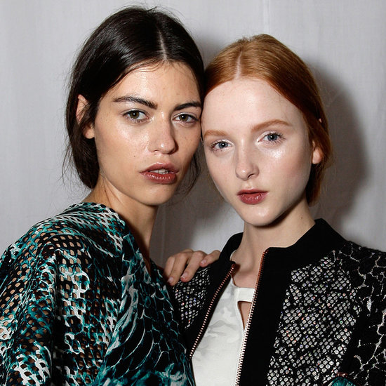 Ginger & Smart Hair and Makeup 2014 Australian Fashion Week