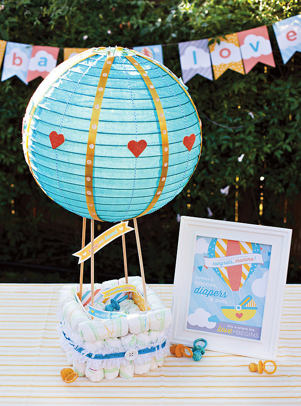 Cake Pop Hot Air Balloon