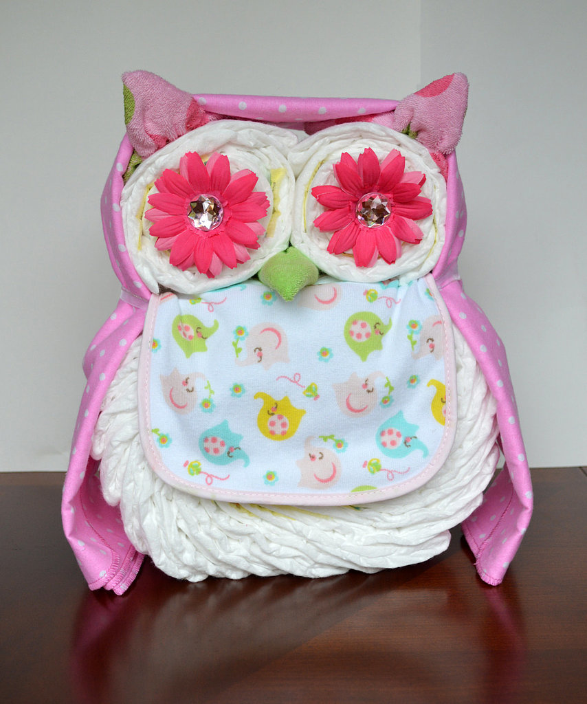 Owl Diaper Cake It s Not a Baby Shower Without a Diaper ...
