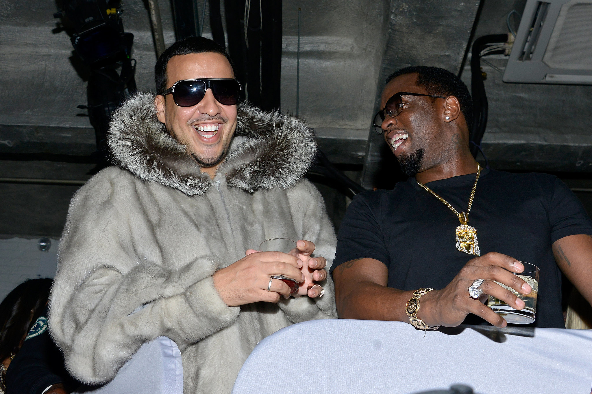 He's BFFs With Diddy