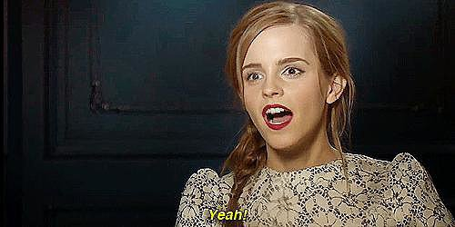 But it's obvious: we love Emma, just for being Emma.