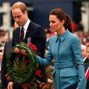 Kate Middleton and Prince William WWI Memorial New Zealand
