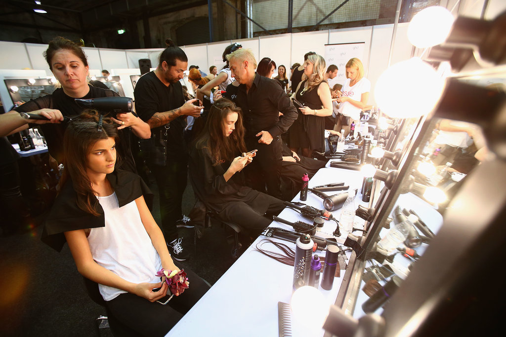 Christopher Esber: It's Definitely a Morning After The Night Before Makeup Look