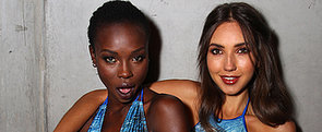 Group Swim Goes For Polished, '70s, Bohemian Hair and Smoky Eyes