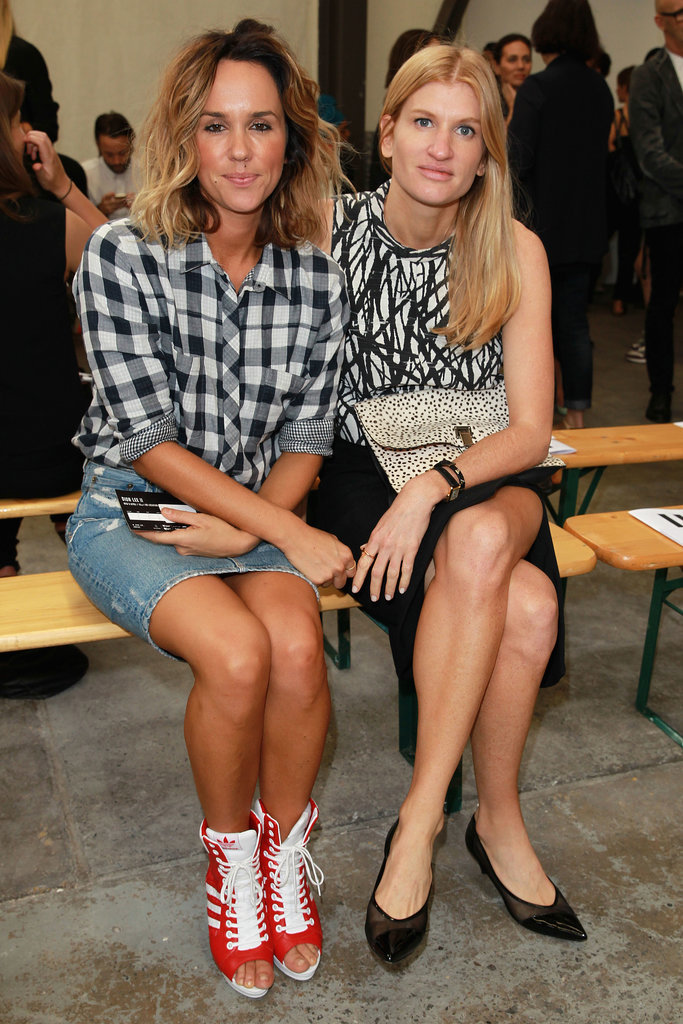 Pip Edwards and Jane Jasper at MBFWA Day Four
