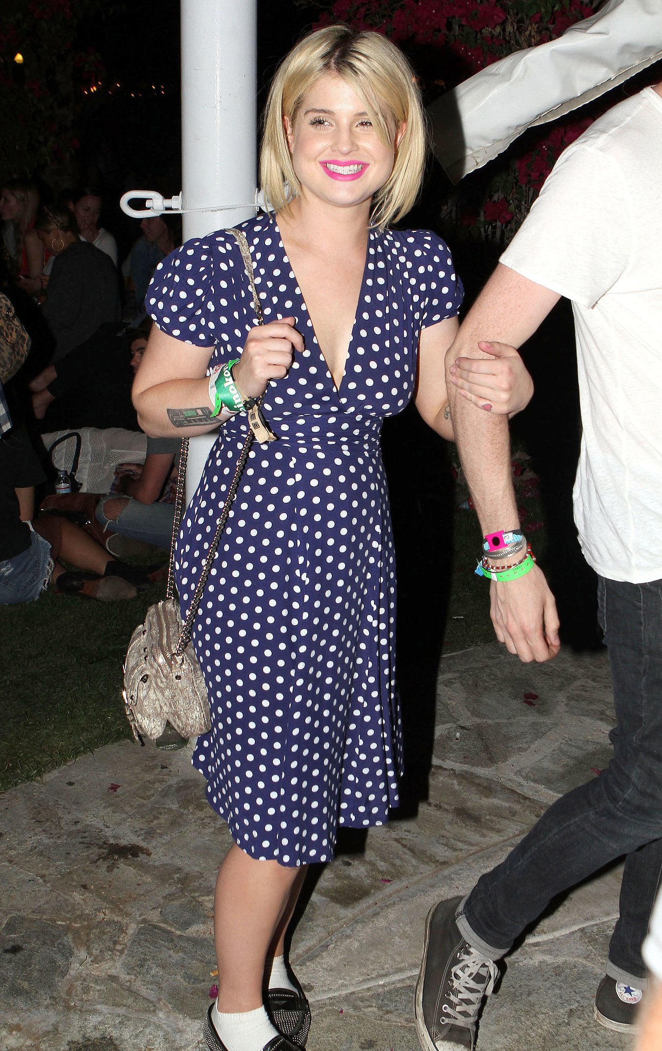 Kelly Osbourne wore polka dots in 2011.