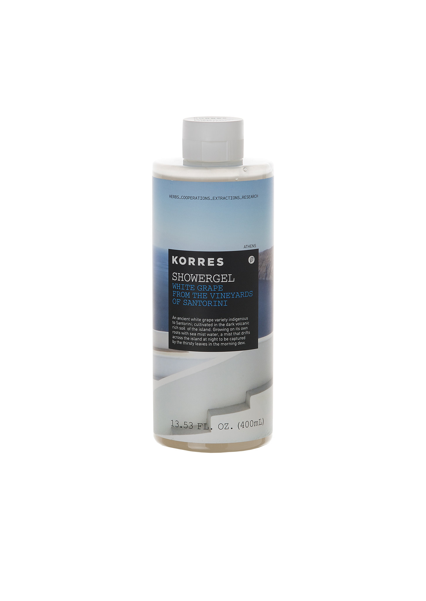 Korres White Grape From the Vineyards of Santorini Shower Gel