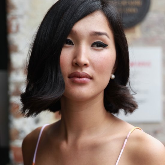 Street Style Pictures of Beauty Looks at 2014 MBFWA