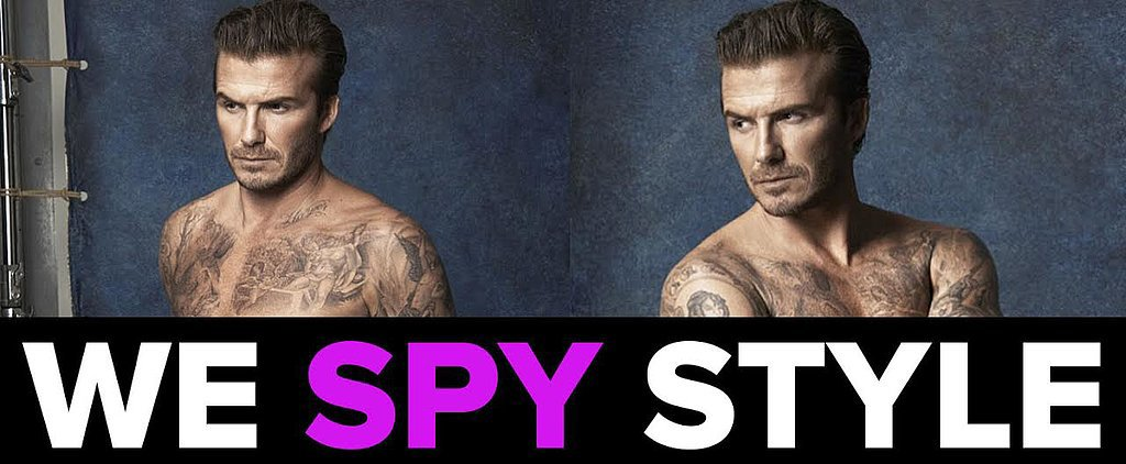We Spy: David Beckham Strips Down (AGAIN!) For H&M