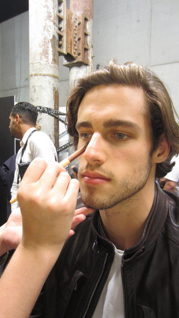 Male Models Need Makeup, Too