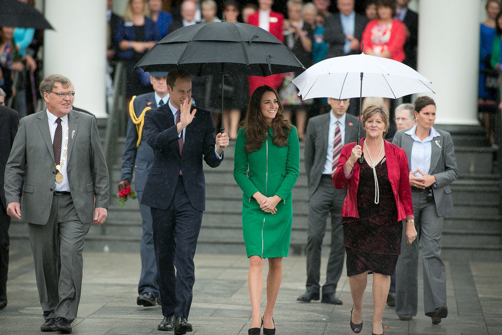 The Royals Share the Look of Love After Solo Outings