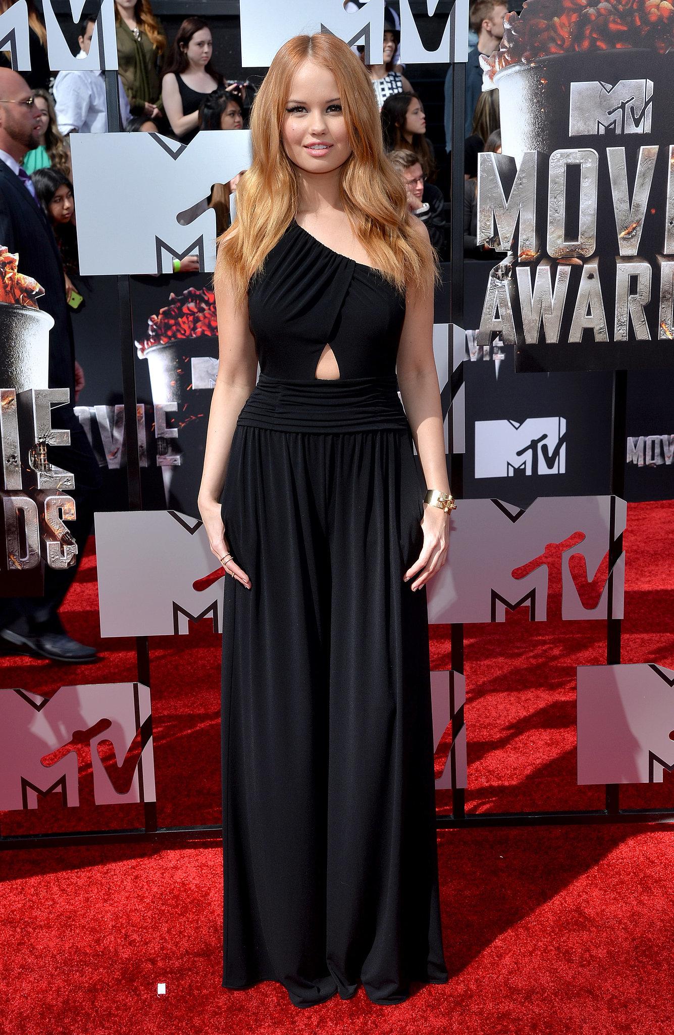 Debby Ryan at the 2014 MTV Movie Awards