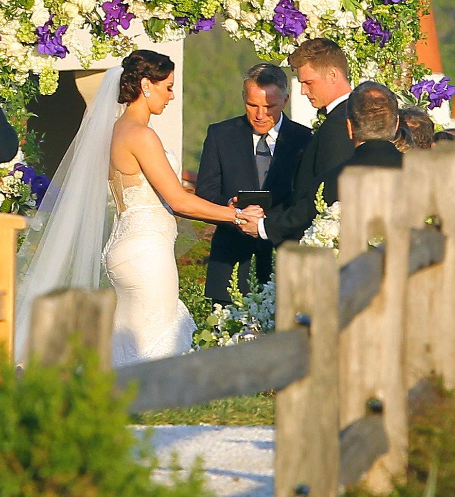 Nick Carter Gets Married in Santa Barbara — See the Pics!