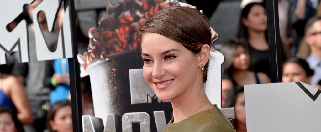 Vote: Shailene Woodley Keeps It Slick For the MTV Movie Awards