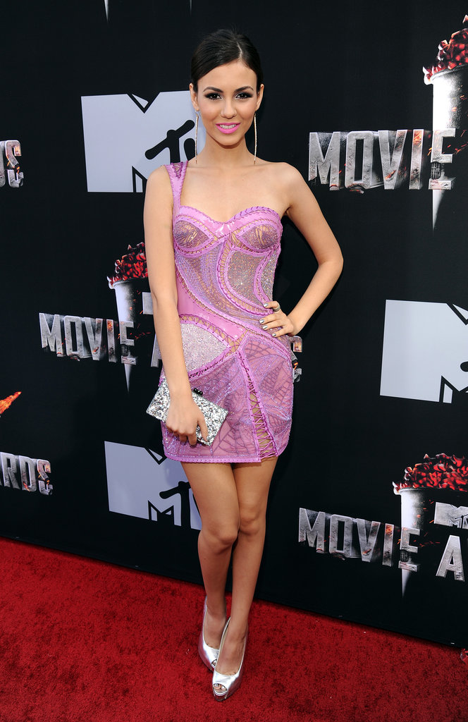 Victoria Justice at the 2014 MTV Movie Awards