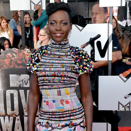 Lupita Nyong'o Dress at MTV Movie Awards 2014