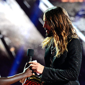 Jared Leto and Lupita Nyong'o at 2014 MTV Movie Awards