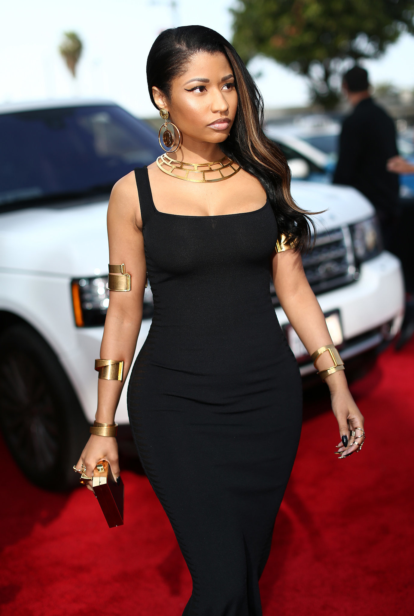 Nicki Minaj Is Barely Recognizable at the MTV Movie Awards