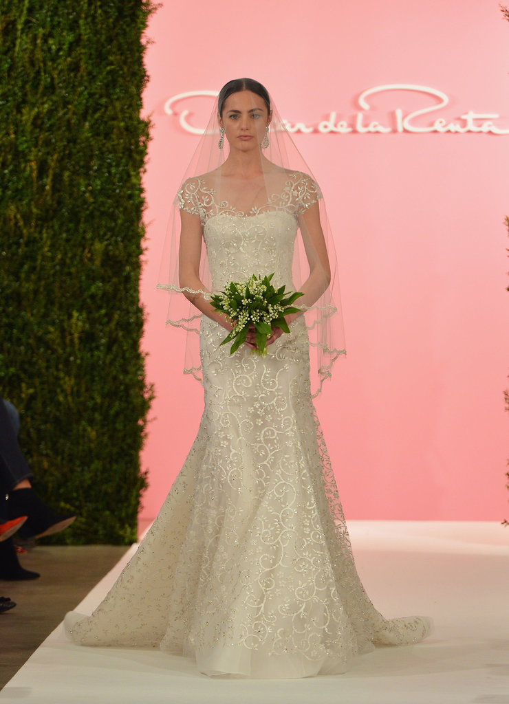 oscar de la renta bridal spring 2015 there was something new at oscar de la renta bridal. Black Bedroom Furniture Sets. Home Design Ideas