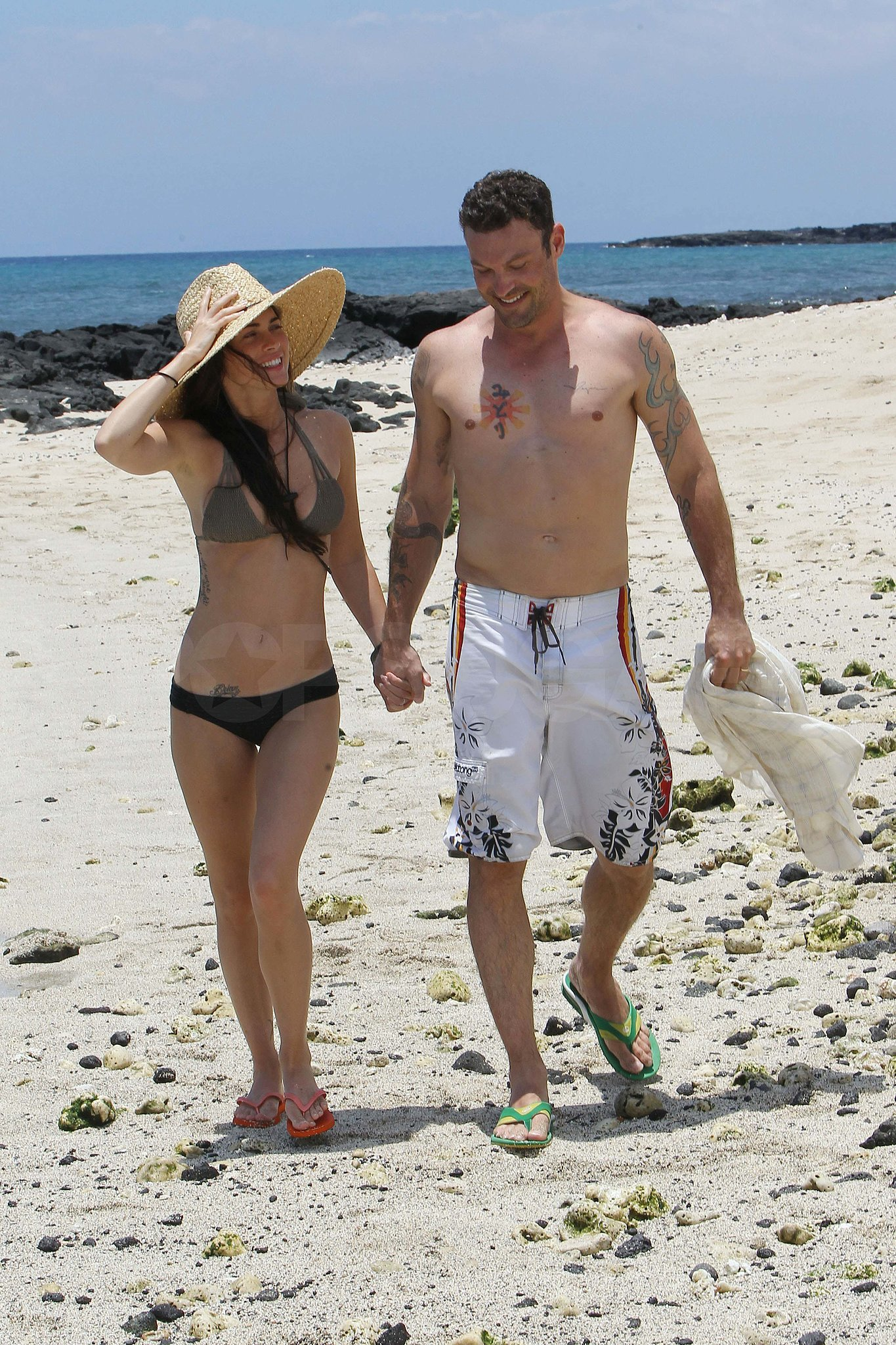 Megan Fox and Brian Austin Green tied the knot in Kona in June 2010 and continued their stay in Hawaii for the honeymoon.